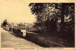 50 - KAIRON-SUR-MER - La Route De Granville à Carolles - - Autres Communes