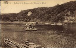 Cp Dinant Wallonien Namur, Valle De La Meuse Entre Dinant Et Givet, Fähre - Other
