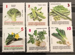 North Macedonia, 2019, Vegetables (MNH) - Macedonia