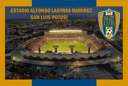 Cp;stade De Football.  SAN  LUIS  POTOSI   MEXIQUE  ESTADIO ALFONSO LASTRAS  RAMIREZ   # CS.727 - Football