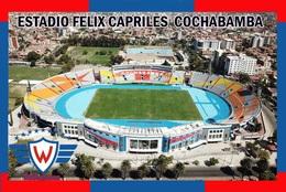 Cp;stade De Football.   COCHABAMBA   BOLIVIE  ESTADIO  FELIX  CAPRILES     # CS.726 - Voetbal