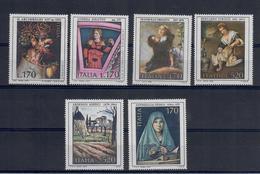 ITALIA 1977/8/9 - ARTE - QUADRI -ARCIMBOLDI-DELITIO-CREMONA-STROZZI-SOFFICI-ANTONELLO  - MNH ** - Art