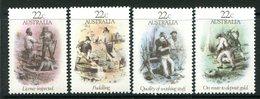 Australia 1981 Gold Rush Era Set MNH (SG 774-777) - Mint Stamps