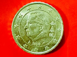 BELGIO - 2010 - Moneta - Re Alberto II - Euro - 0.10 - Belgio