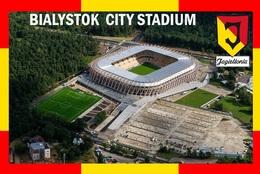 Cp;stade De Football.    BIALYSTOK  POLOGNE   BIALYSTOK   CITY STADIUM        # CS.723 - Voetbal