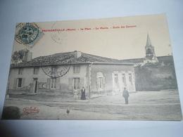C.P.A.- Fromeréville (55) - La Place - La Mairie - Ecole Des Garçons - 1906 - SUP (BX 70) - France
