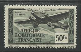 AFRIQUE EQUATORIALE FRANCAISE - AEF - A.E.F. - 1943 - YT PA 41** - A.E.F. (1936-1958)