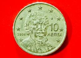 GRECIA - 2004 - Moneta - Ritratto Di Rigas Fereos-Velestinlis (1757-1798) - Euro - 0.10 - Grecia