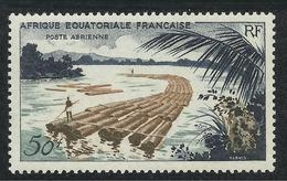 AFRIQUE EQUATORIALE FRANCAISE - AEF - A.E.F. - 1955 - YT PA 58** - A.E.F. (1936-1958)