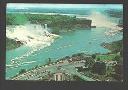 Niagara Falls - Spectacular Aerial View Of The Majestic Niagara - Chutes Du Niagara
