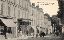 VILLE-D'AVRAY LA RUE DE SEVRES - Ville D'Avray