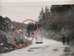 Photo Original 1951, Rte 15 Élargissement à Houffalize - Houffalize