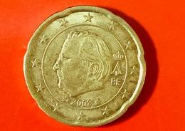 BELGIO - 2008 - Moneta - Re Alberto II - Euro - 0.20 - Belgio