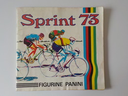 1973 Cyclisme Album Panini Sprint 73 Eddy Merckx Radfahren Wielrijder Chromos - Cycling