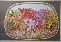 Singapore 2011. 20th World Orchid Conference (WOC). Miniature Sheet In Souvenir Folder. MNH - Orchidées