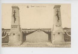 Ypres (Belgique) Cimetière Saint Charles, Cimetière Militaire Français (cp Vierge N°138) - War 1914-18