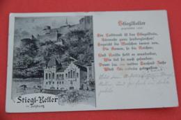 Salzburg Stiegl Keller Stieglkeller 1905 - Austria