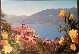 Ak Schweiz - Locarno - Madonna Del Sasso - Panorama - Kirchen U. Kathedralen