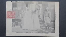 """Tunisie Oblitération De Kalaat Es Senam 1906 Sur Carte """"  L'insurrection De Thala Le Marabout Amor Ben Othman """" - Covers & Documents"""