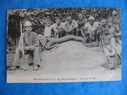 Afrique Missions Des P.P. Du Saint Esprit LA MORT DU BOA Ancienne Colonie Française - Postcards