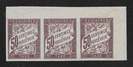 COLONIES FRANCAISES 1893/1908 YT Taxe 23** - Strafportzegels