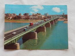Iraq Baghdad Jumhuriya Bridge  Stamp 1977     A 196 - Irak
