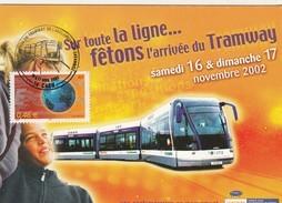 TRAMWAY DE CAEN  2002 à 2017 15ans Only - Tram