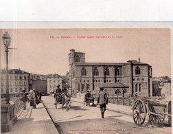 """ROMANS Sur ISERE """" Eglise St Barnard Et Le Pont"""" - Romans Sur Isere"""