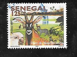 TIMBRE OBLITERE DU SENEGAL DE 2008 N° MICHEL  2129 - Senegal (1960-...)