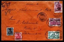A6260) DR Infla Wertbrief Cassel 22.05.20 N. Berlin M. Mi.115 Ua. - Briefe U. Dokumente