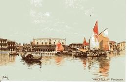 VENEZIA  - Panorama 30.5.1909 - Venezia (Venice)