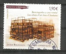 """Oeuvre De Javier Balmaseda """"Instinct De Conservation"""" , Oblitéré 1 ère Qualité, Oblitération Ronde, Année 2015 - Used Stamps"""