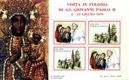 ERINNOFILIA / Visita S.S.Giovanni Paolo II In Polonia 1979 - Vignetten (Erinnophilie)