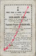 En 1866 Et 1877  Borre  (59) Louis-Joseph STAES  Ep Euphémie RUCKEBUSCH, Né An V - Décès