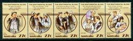 Australia 1983 Folklore - The Sentimental Bloke Set MNH (SG 890-894) - Mint Stamps