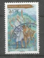 Berger Et Troupeau De Vaches,  Un Timbre Oblitéré 1 ère Qualité  2015 Haute Faciale Pour Lettre Recommandée - Used Stamps