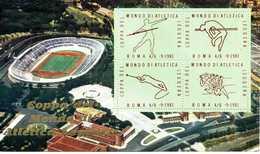 ERINNOFILIA / Coppa Del Mondo Di Atletica Leggera 1981 - Vignetten (Erinnophilie)