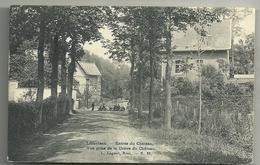 Linkebeek : Drève Du Chateau . Vue Prise De La Drève Du Chateau Cachet Relais De Linkebeek - Linkebeek