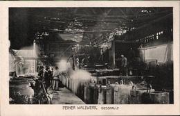 ! Alte Ansichtskarte Peine, Peiner Walzwerk, Montanindustrie, Acierie, Steel Industry, Niedersachsen - Peine