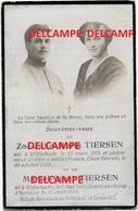 Oorlog Guerre Marcel Tiersen Wijtschate Soldaat Gesneuveld Te Langemark 17 April 1918 Boezinge Kemmel Voormezele - Images Religieuses