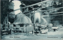 ! Alte Ansichtskarte 1906 Peine, Peiner Walzwerk, Montanindustrie, Acierie, Steel Industry, Thomasbirnen, Lübeck - Peine