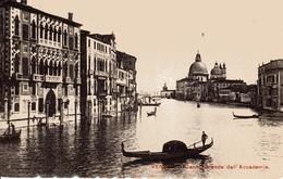 VENEZIA -Canal Grande Dall'Accademia, 1906 - Venezia (Venice)