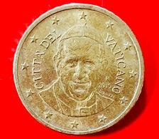 VATICANO - 2015 - Moneta - Papa Francesco - Euro - 0.50 Cent. - Vatican