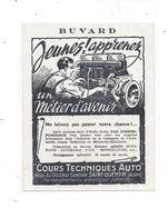 Buvard Cours Technique AUTO, à SAINT QUENTIN (Aisne) - Automotive
