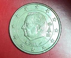 BELGIO - 2011 - Moneta - Effige Di  Re Alberto II - Euro - 0.50 - Belgio