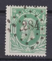 N° 30 LP  284 OTTIGNIES COBA +12.00 - 1869-1883 Leopold II