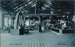 ! Alte Ansichtskarte  Peine, Peiner Walzwerk, Stahl Montanindustrie, Acierie, Steel Industry, Gebläsemaschinen - Peine