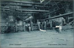 ! Alte Ansichtskarte  Peine, Peiner Walzwerk, Stahl Montanindustrie, Acierie, Steel Industry, Trägerwalzwerk - Peine