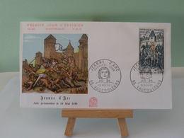 Jeanne D'Arc - 55 Vaucouleurs - 16.11.1968 FDC 1er Jour (Numismatique Française) Coté 2€ - FDC