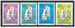1991 Somalia Ricostruzione Set MNH** - Somalia (1960-...)